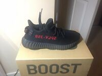 Yeezy Boost 350 V2 BRED Brand new 100% Authentic - Comes with Adidas Delivery Receipt