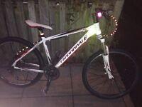 Cannondale trail SL Model hybrid men's medium frame bike top make mountain bicycle // trek giant