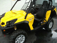 2012 Can Am Commander xt 1000 4x4  EFI $12500!!!!