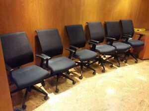 """23 Matching """"Enzo FX"""" Conference Chairs"""