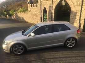 2005 Audi A3 2.0 Tdi sport, Long mot, reduced