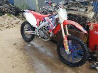 Honda crf 450 2011 day time MOT