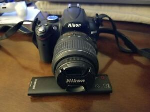 Nikon-D5000-DLSR-Camera with Extras