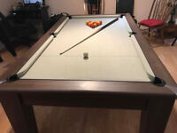 Full Size 7ft English Pool / Dining Table