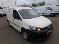 Volkswagen Caddy 1.6 Tdi 75Ps Startline Van Air Con DIESEL MANUAL WHITE (2014)