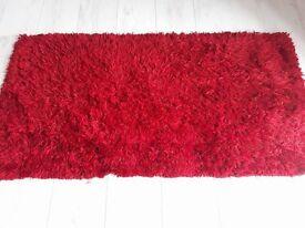 Red fire side or bedroom rog