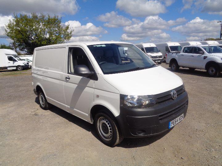 Volkswagen Transporter 2.0 Tdi 84Ps Startline Van DIESEL MANUAL WHITE (2014)