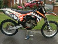 KTM SXF 250 2012 MODEL MX MOTOCROSS BIKE