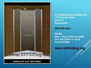 VANITIES AND SHOWER STALLS W/BASES-LARGE, MEDIUM, SMALL SIZES!!!