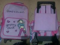 Groovy chick suitcase/trolley/backpack