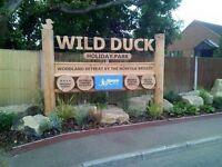 Luxury 3 bed platinum caravan Haven Wild duck holiday park Norfolk