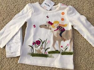 Gymboree 6-12 month girls top, new with tags