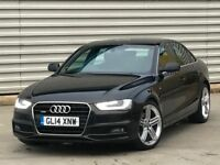 2014 14 REG AUDI A4 2.0 TDI S LINE QUATTRO 177BHP 4dr***RARE CAR** manual die...