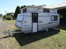 Jayco pop top caravan Wallacedale Glenelg Area Preview