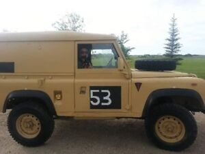 1991 Land Rover Defender SUV, Crossover, military, army