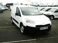 Peugeot Partner L1 850 1.6 HDI 90BHP VAN DIESEL MANUAL WHITE (2012)