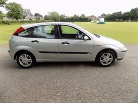 2003 Ford Focus 1.6 Manual 5Doors With 12 Month MOT & New Clutch PX Welcome