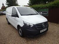 2016 Mercedes-Benz Vito 1.6 109CDI Long wheel base Panel Van 6dr only 33000 miles warranty 1.5 year