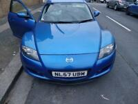 2007 Mazda RX-8 1.3 4dr (190bhp) Immaculate Car 1 YEAR MOT Blue