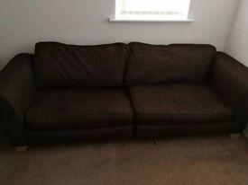Brown Sofa for sale good condition