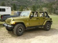 2007 Jeep Wrangler Sierra Unlimited SUV, Crossover