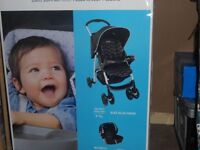 Graco travel system with car seat