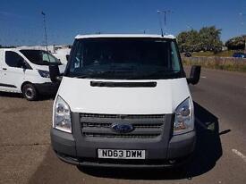 Ford Transit Low Roof Van Tdci 125Ps DIESEL MANUAL WHITE (2014)
