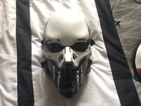 Airsoft/Paintball mask Custom Skull paint