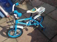 kids police bike 14inch