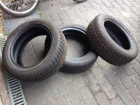 Dunlop Winter Tyres (x3) 205/55 R16