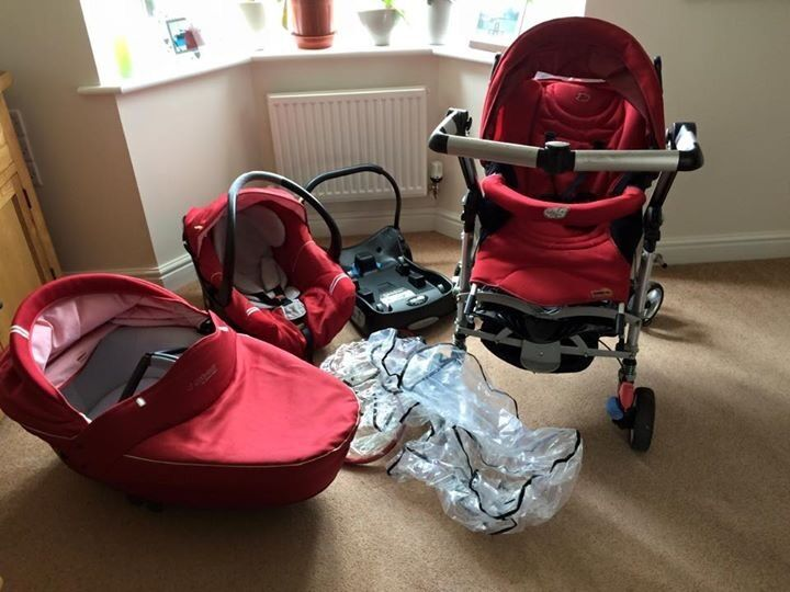 maxi cosi bebe confort loola up travel system in red lodge suffolk gumtree. Black Bedroom Furniture Sets. Home Design Ideas