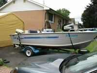 16.5 ft centre console springbok fishing boat for sale