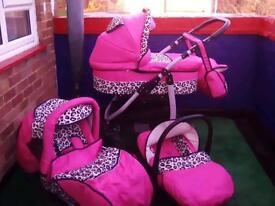 girly travel system