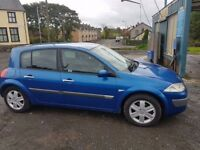 Renault megane DCI Diesel long MOT cheap car ( not focus, astra, scenic, golf)