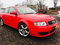 2004 Audi A4 Sport Diesel **FRESH MOT**LEATHER INT**3 KEEPERS**Warranted Mileage**