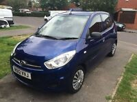 Bargain Hyundai i10 only 33.5k mls £20 tax Lowest ins grp 1 OAP owner from new going for a song