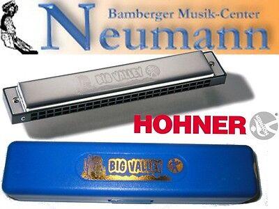 Hohner Big Valley Tremolo Mundharmonika C-Dur mit 48 Stimmen