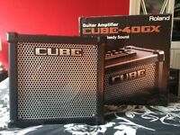 Guitar amplifier Roland Cube 40GX
