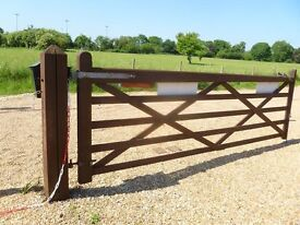 5-Bar gates (pair)