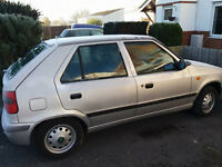 Skoda felciia Low millage 65k Cat D ( cosmetic damage) mot June