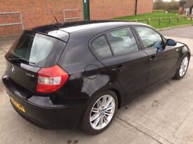 2005 BMW 118d Sport 2.0 Diesel Manual Black - 6 Speed 5 door 1 series Bargain to clear