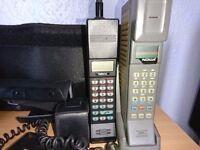 Vintage mobile cell phones -lot - working nokia motorola radio shack bt coral SUPER RARE