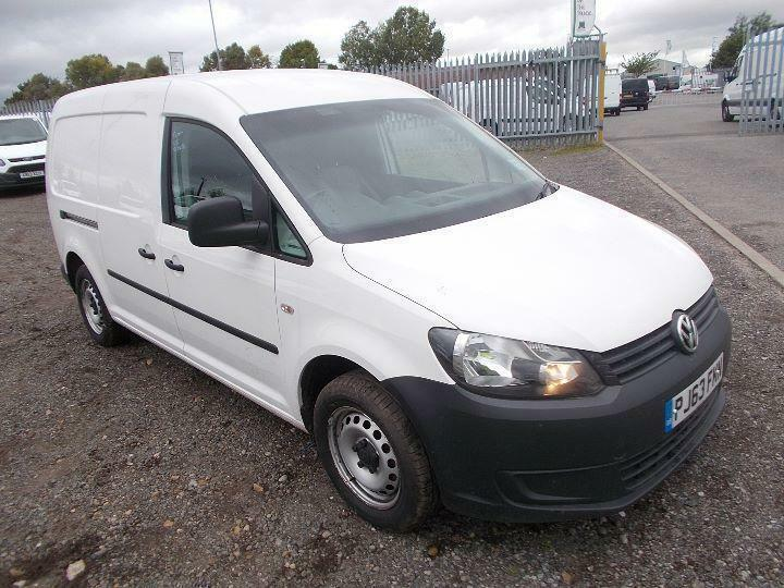 Volkswagen Caddy 1.6 Tdi 102Ps Van DIESEL MANUAL WHITE (2013)