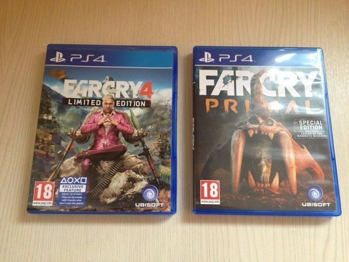 Far Cry 4 & Primal PS4