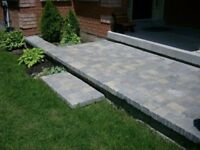 Interlock patios, walkways, driveway inlays, fences and decks