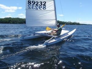 Hobie 16 Refurbished Newer sails.