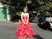 Big Sale Prom Dress I got 2 one red ..other purpule sm  for more