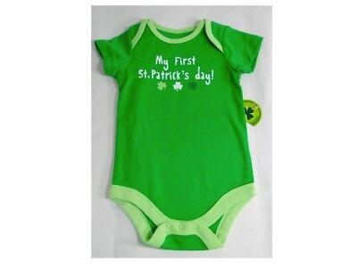 Irish Baby Outfits - New Baby Unisex Green