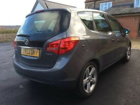LOW MILES Vauxhall Meriva 1.4i 16v turbo