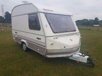 Sprite 2 Berth Caravan with Full Awning